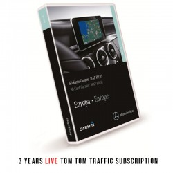 Mercedes Garmin Map Pilot SD Card 3 Year Live Traffic